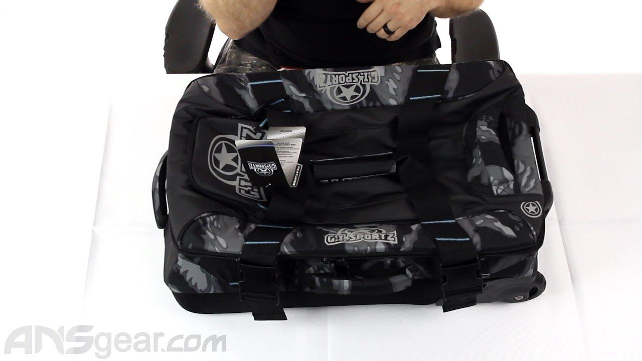 fe89b140e38a GI Sportz Fly r 2.0 Gear Bag - Review - YouTube