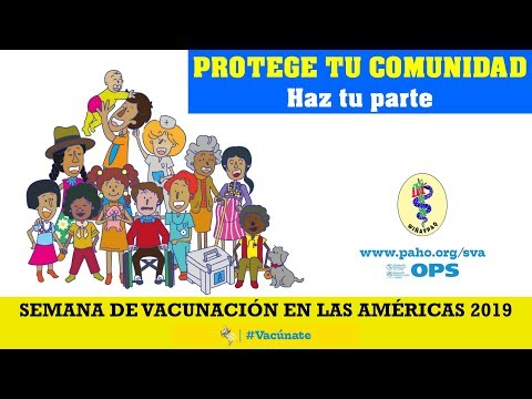 SEMANA DE VACUNACIÓN EN LAS AMÉRICAS 2019.