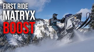 First Ride on the NEW Polaris MATRYX BOOST