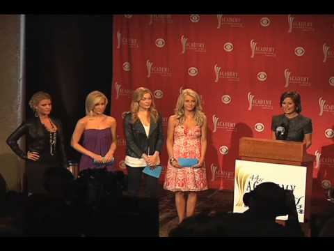 ACM Nominees Press Conference 2009