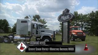 Camiones MACK - World of Concrete 2014 - Mercado Vial TV