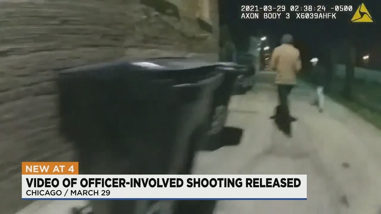 Chicago Releases Video Showing Fatal Police Shooting Of 13-Year ...