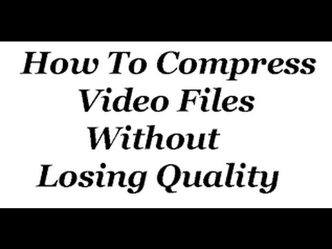 How To Compress Large Video Files Without Losing Quality [100%] Work