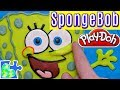 SPONGEBOB SQUAREPANTS PLAY-DOH PUZZLE || Spongebob Movie!!