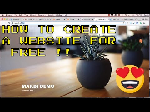 how to create a website for Free Dynamic Website with Free Domain and Hosting in Under 10 Minutes thumbnail