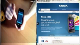 Nokia 5230 Обзор!