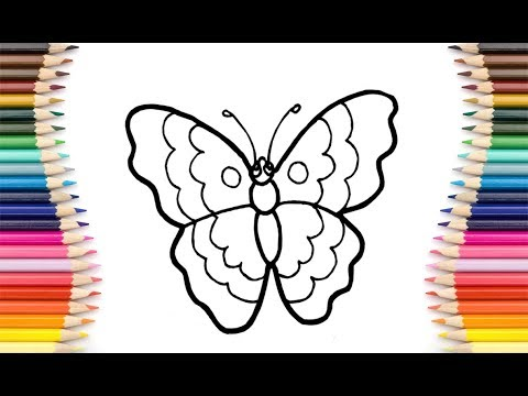 Kids Baby Butterfly العاب تلوين للأطفال تعلم الاطفال