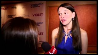"Sutton Foster and the Cast of ""Violet"" Ride into Opening Night"