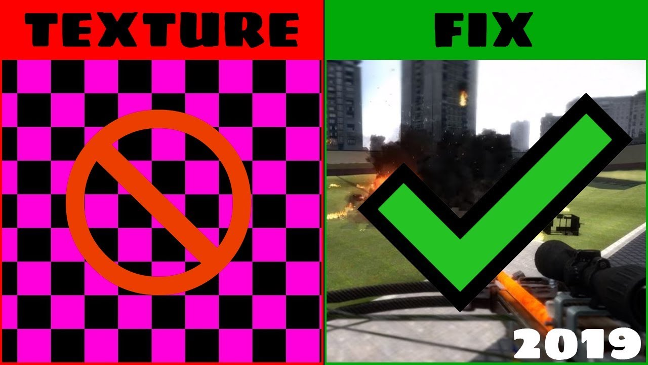 How to FIX Missing Textures in Garry's Mod   Works for all Maps [2019]