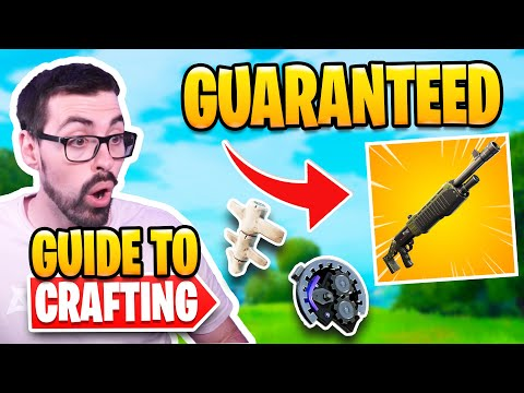 Crafting Explained in Fortnite Season 6 | Guaranteed Spaz EVERY GAME