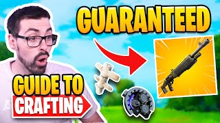 Crafting Explained in Fortnite Season 6  Guaranteed Spaz EVERY GAME