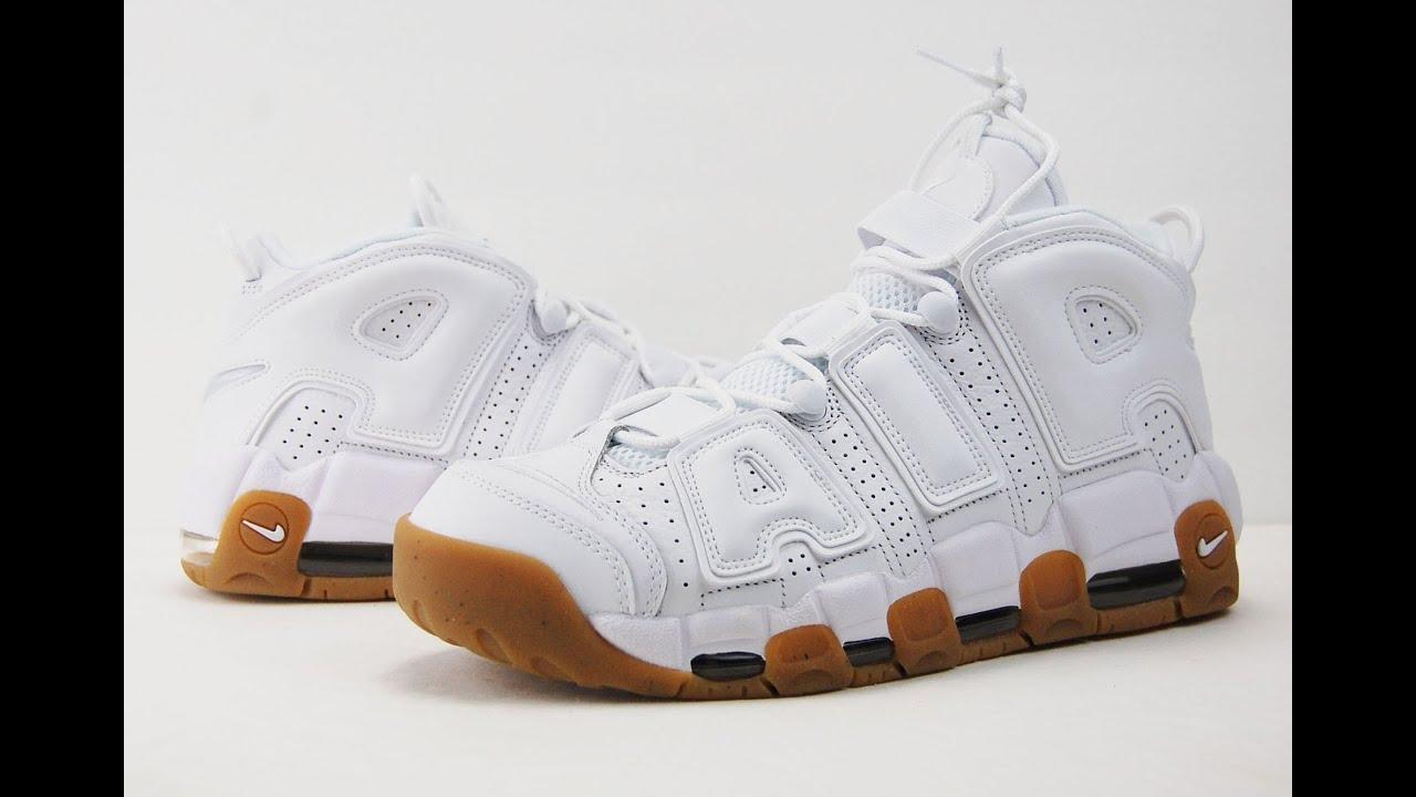 half off 973c1 22275 Nike Air More Uptempo White Gum Review