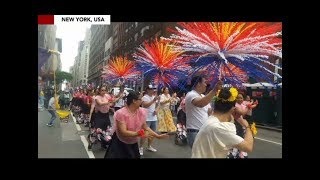Filipinos launch largest Independence Day parade outside Philippines