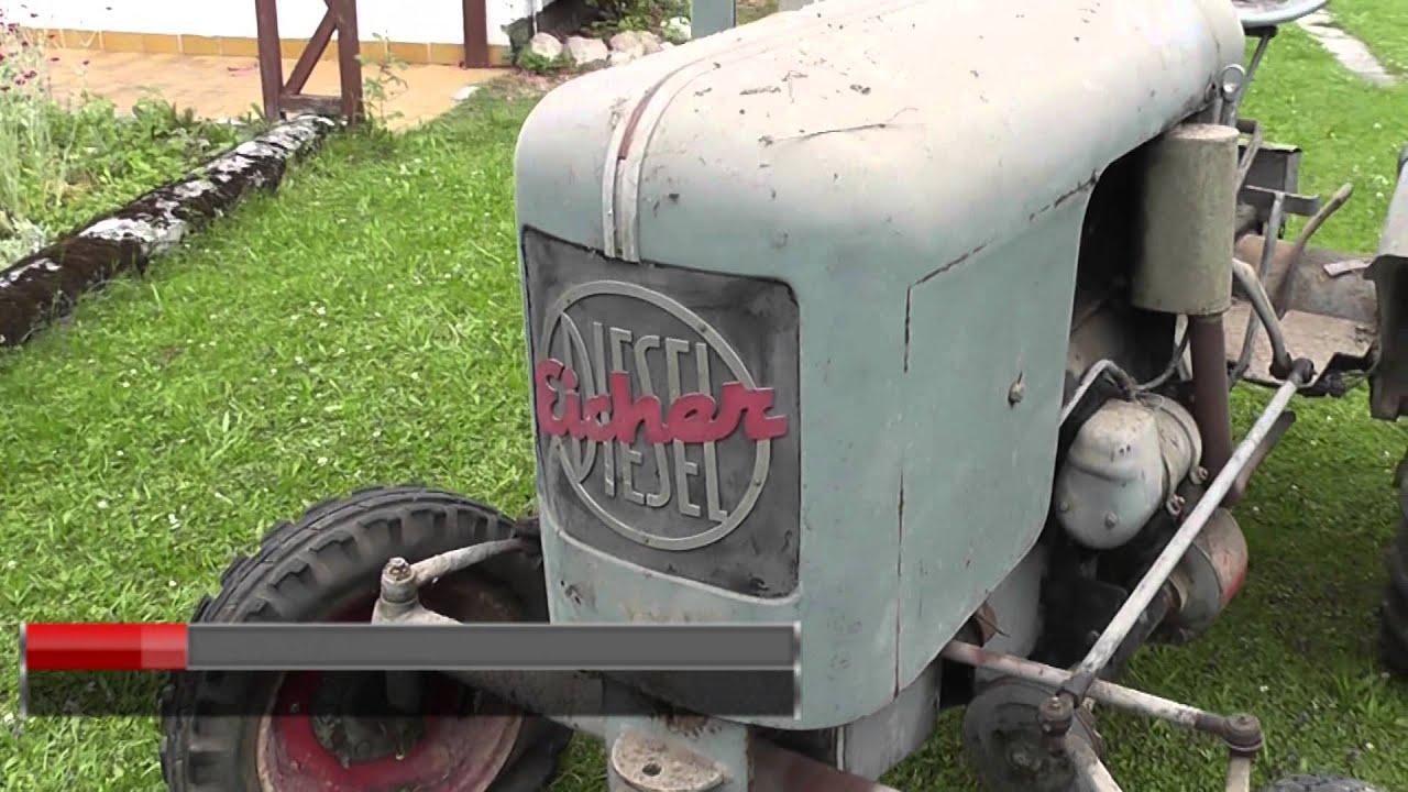 eicher oldtimer traktoren teil 2 youtube. Black Bedroom Furniture Sets. Home Design Ideas