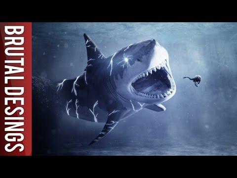 Speed Art -The Shark Attack