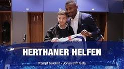 Herthaner Helfen 2019 - Kampf belohnt - Jonas trifft Sala - Hertha BSC