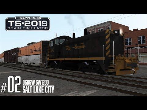 Train Simulator 2019    Salt Lake City   D&RGW SW1200   Collecting Goodies  
