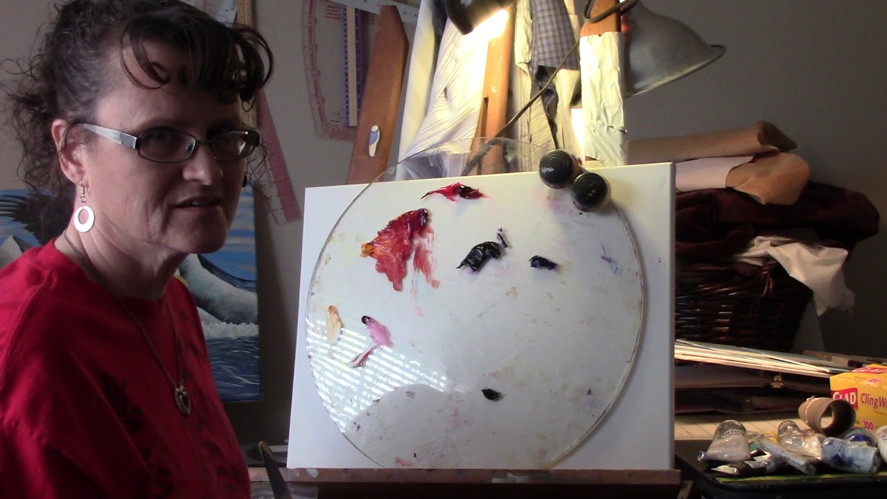 Art Class 101 - Mixing a Color Wheel