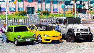 GTA 5 CAR THIEVES - УГНАЛ ВСЕ ДОРОГИЕ МАШИНЫ ИЗ ГЕТТО РАЙОНА! КТО УГОНИТ БОЛЬШЕ МАШИН!? 🌊ВОТЕР