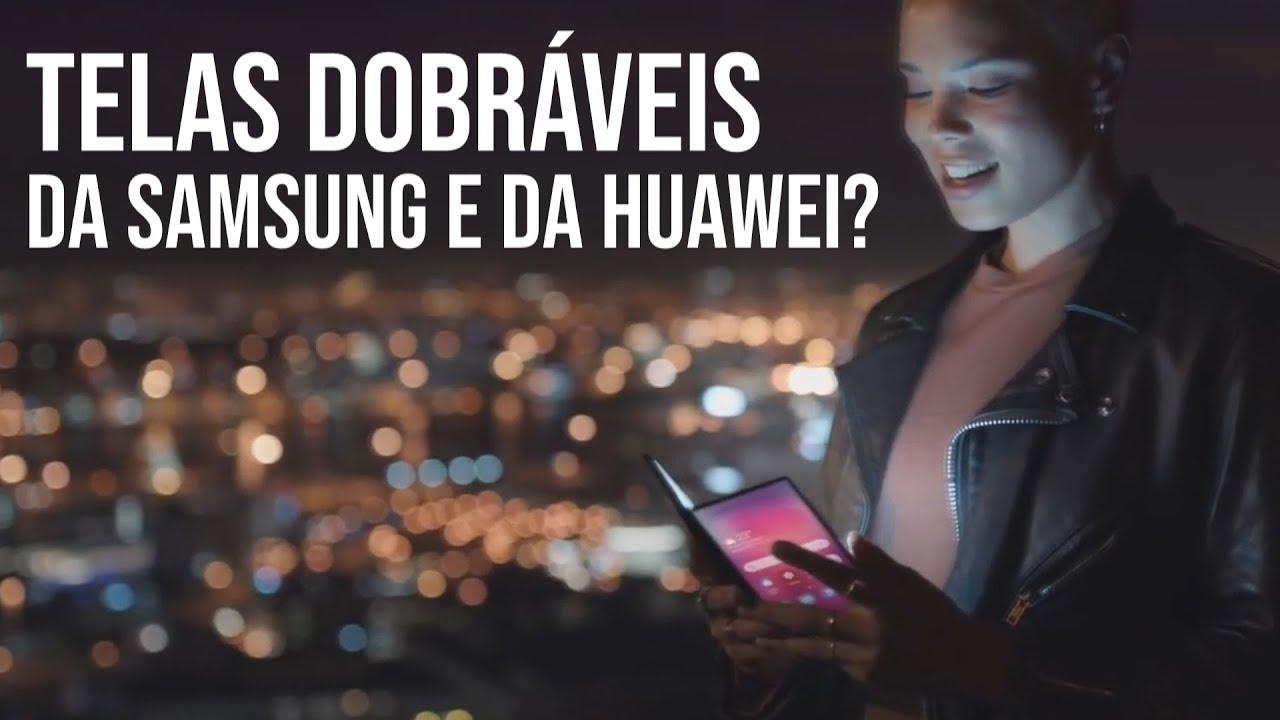 Galaxy dobrável em VÍDEO; Huawei e Xiaomi CRESCEM, Apple e Samsung CAEM e + (TekiNews)