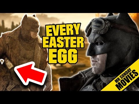 Watch BATMAN V SUPERMAN: DAWN OF JUSTICE Easter Eggs, Cameos & References