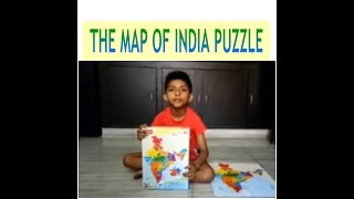 Funskool-Play and Learn India Map Puzzles