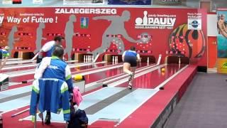 Barbara Fidel - Angriff auf den Weltrekord Wurf 81 bis 90 - Zalaegerszeg 24.05.2013