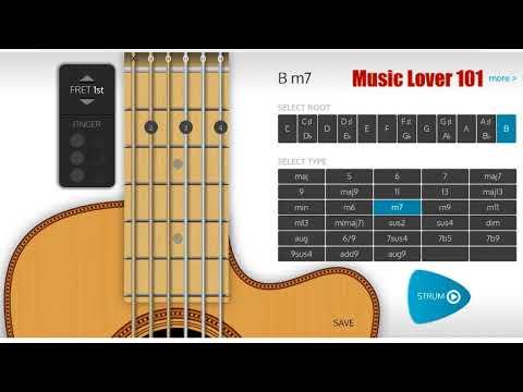 Bm7 Chord Guitar - YouTube