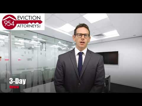 Lake Worth Evictions Lawyers 3 Day Notice