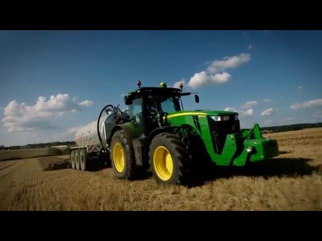 Tracteurs John Deere séries 8R et 8RT