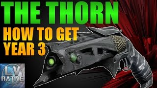 Destiny How to Get Thorn | Thorn Exotic Quest Guide (Rise of Iron)