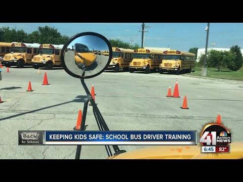 Keeping kids safe: School bus driver training