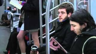 flashmobe - в трусиках в метро.flv