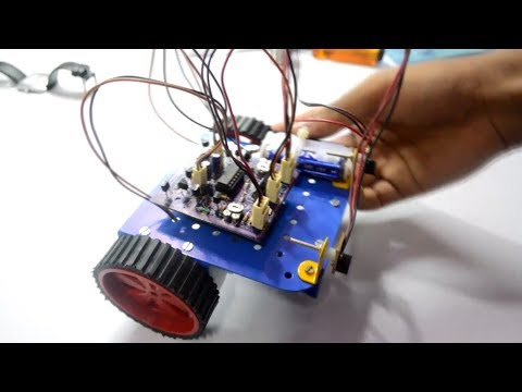Obstacle Avoiding Robot Without Microcontroller