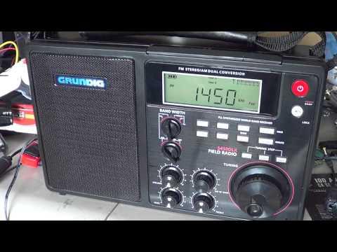 Grundig S450DLX Review AM FM Shortwave field radio
