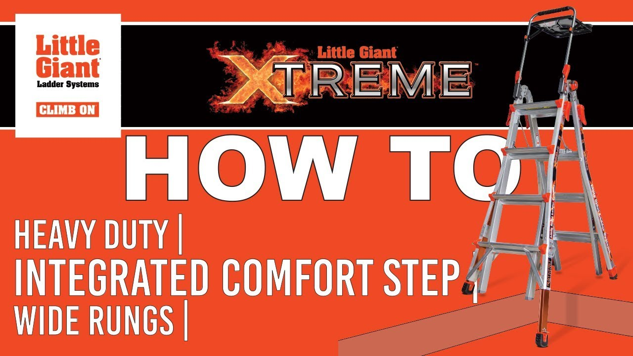 9a912a47aa55 Little Giant Xtreme™ Ladder How-To - YouTube