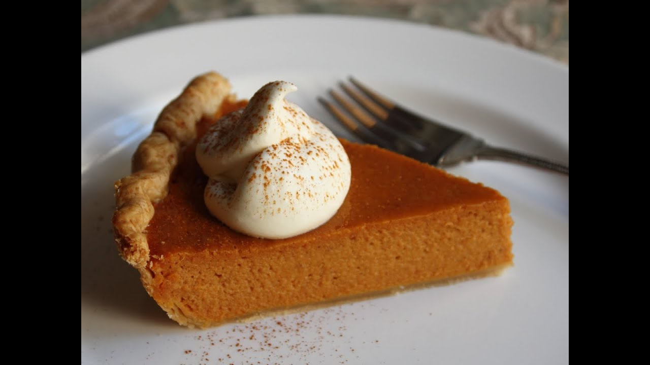 Best Pumpkin Pie Ever - Classic Thanksgiving Pumpkin Pie ...