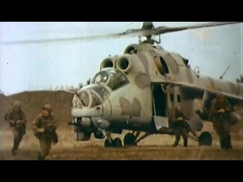 MI 24 Russian attack helicopter (RWA) Documentary