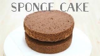 【超鬆軟】朱古力海棉蛋糕 Chocolate Sponge Cake *Happy Amy
