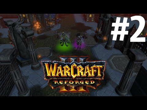 ПОБЕГ ИЗ ЛОРДЕРОНА! - КАМПАНИЯ ПЛЕТИ! - НАСЛЕДИЕ ПРОКЛЯТЫХ! - ПРОХОЖДЕНИЕ Warcraft III: Reforged #2