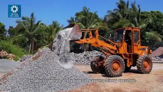 Heavy Vehicle Operator | WUSC Stories | Vavuniya