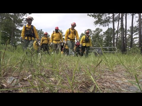 Forestry Commission Rangers Train Hard To Fight Fires and Protect Property