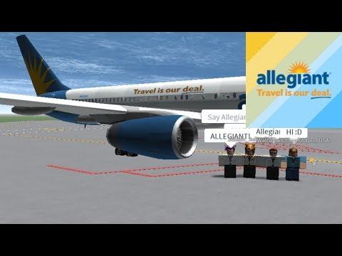 CAPTAIN | Allegiant Air - B752 | ROBLOX