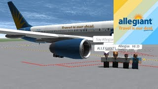 CAPTAIN | Allegiant Air - B752 | ROBLOX