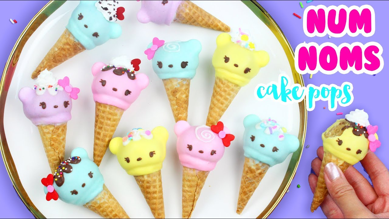 How To Make Num Noms Cake Pops Youtube