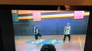 THROWBACK DANCE TRYOUTS DEVAN & MIKE FORD