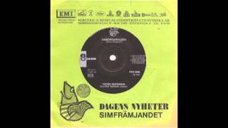 Thore Skogman - Simborgarvalsen - 1-sidig singel - 1967