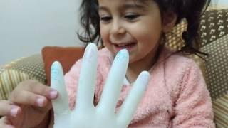 Ayşe Ebrar Eldivenden Balon Yaptı. Parmak Ailesi Şarkısı Söyledi. Eğlenceli Çocuk Videosu