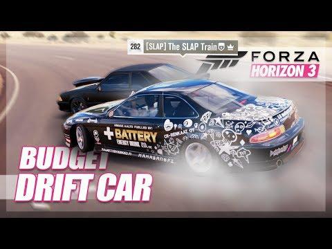 Forza Horizon 3 - Budget Drift Car Challenge! W/TheSLAPTrain