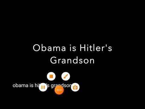 Obama is Hitler's Grandson